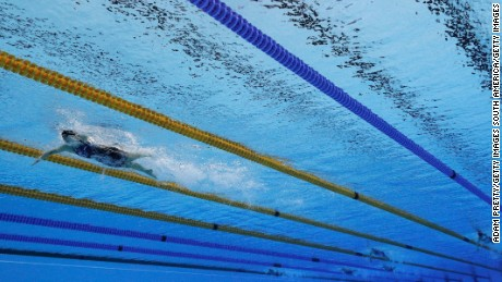 Ledecky crushes rivals, wins gold medal