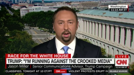 Jason Miller repeats Trump's accusations of 'rigged media'_00012217