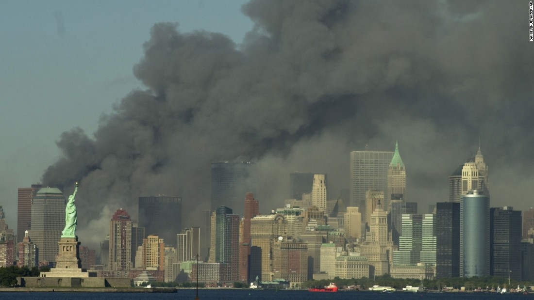 What time did the first plane attack on 9/11 — photo 1