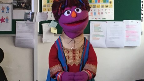 How this Muppet is changing lives in war-torn Afghanistan