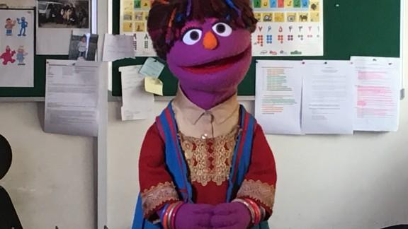 Zari, the first Afghan muppet
