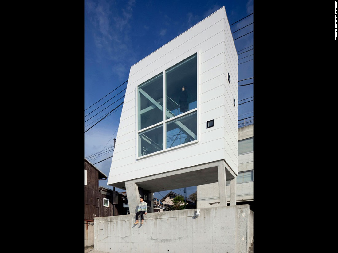 Tight squeeze: Japan\'s coolest micro homes - CNN Style