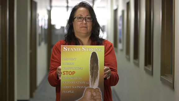 """Diane Redsky runs Ma Mawai. """"A whole society is targeting indigenous women and girls, particularly for violence and abuse, and that spills over into sex trafficking,"""" she says."""