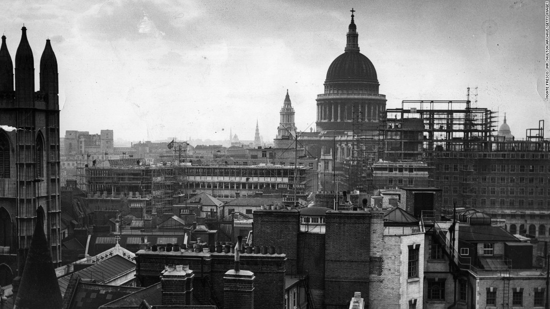 London39s Skyline Was Irrevocably Altered By Bombing In The Second World War