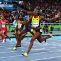 elaine thompson 100m win