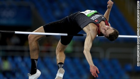 Drouin went clear at 2.38m to secure victory.