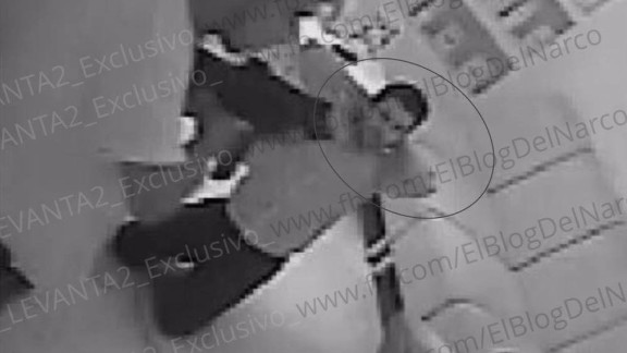 Security camera photos show the kidnapping of men from a restaurant in Puerto Vallarta.