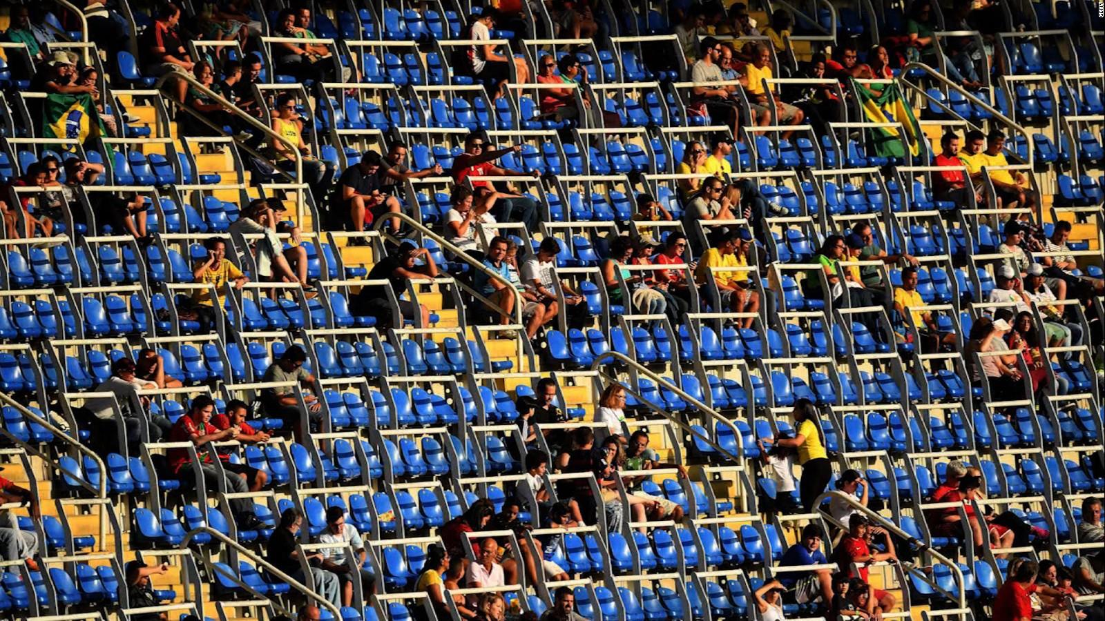 Olympics 2016 Why All The Empty Seats Cnn
