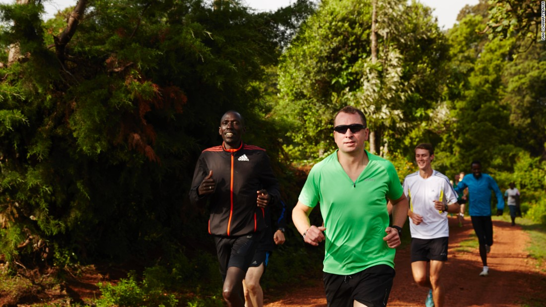 The camp offers the chance to run with some of Kenya's finest athletes, and learn from their techniques and lifestyles.
