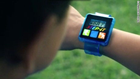 McDonald's is removing Step-It activity trackers from Happy Meals.