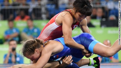 Icho has won Olympic gold in each of her four appearances at the Games.