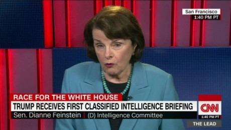 ranking intel democrat senator dianne feinstein the lead jake tapper interview_00043411