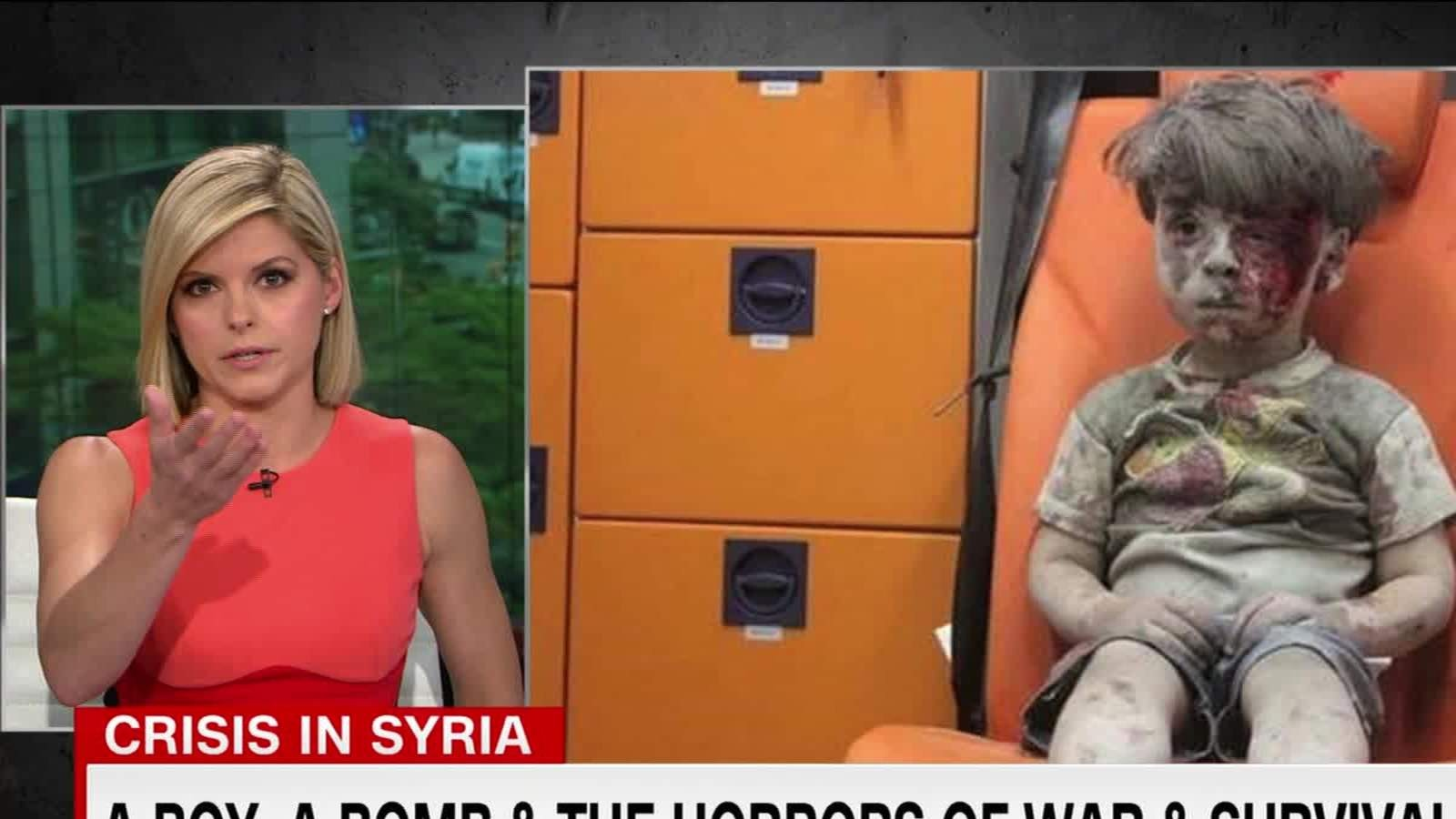 Story Of Little Syrian Boy Moves CNN Anchor To Tears