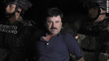 El Chapo (Photo credit: AFP/Getty Images)