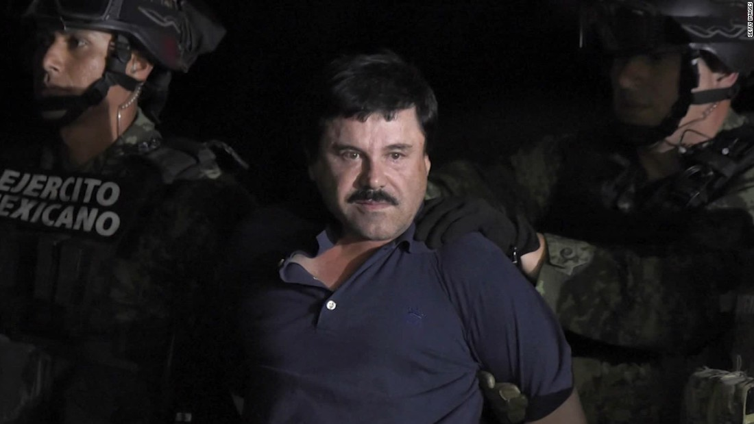 Inside the El Chapo Trial