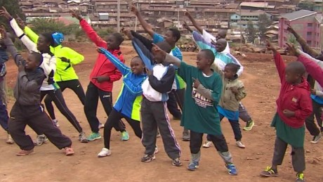 Kids around the world do the 'Bolt'