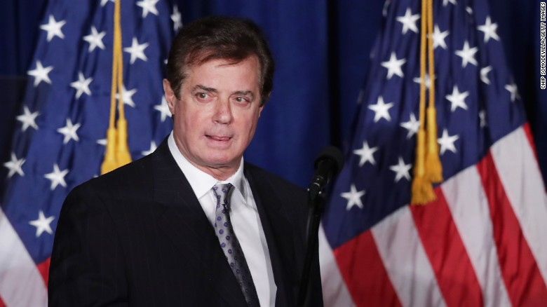 Manafort's history in the political spotlight
