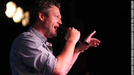 Recording artist Blake Shelton surprised Smithworks fans with a pop-up performance on July 28, 2016 in Denver, Colorado.