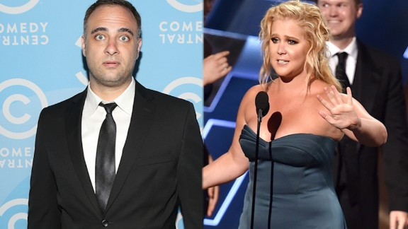 HOLLYWOOD, CA - AUGUST 16: Actor Kurt Metzger attends the Comedy Central Creative Arts Emmy Party at Boulevard 3 on August 16, 2014 in Hollywood, California. (Photo by Jesse Grant/Getty Images for Comedy Central)  LOS ANGELES, CA - SEPTEMBER 20: Actress/writer Amy Schumer (L) and crew accept Outstanding Variety Sketch Series award for 'Inside Amy Schumer' onstage during the 67th Annual Primetime Emmy Awards at Microsoft Theater on September 20, 2015 in Los Angeles, California. (Photo by Kevin Winter/Getty Images)