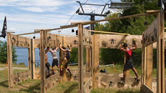 Z-Walls, or L-Walls, require climbing skills.