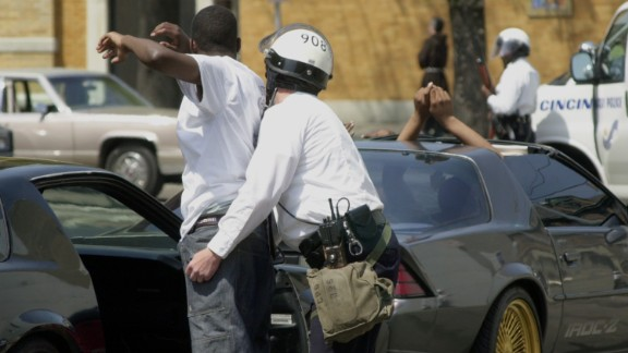 Some in black communities say traffic stops target them.