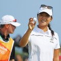 Lydia Ko rio 2016 hole in one