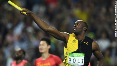 Usain Bolt becomes Olympic immortal as Jamaica wins 4x100m relay gold