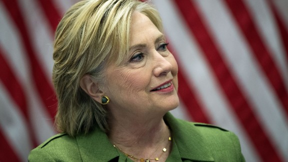 Democratic presidential candidate Hillary Clinton delivers opening remarks during a meeting with law enforcement officials at the John Jay College of Criminal Justice, August 18, 2016 in New York City.