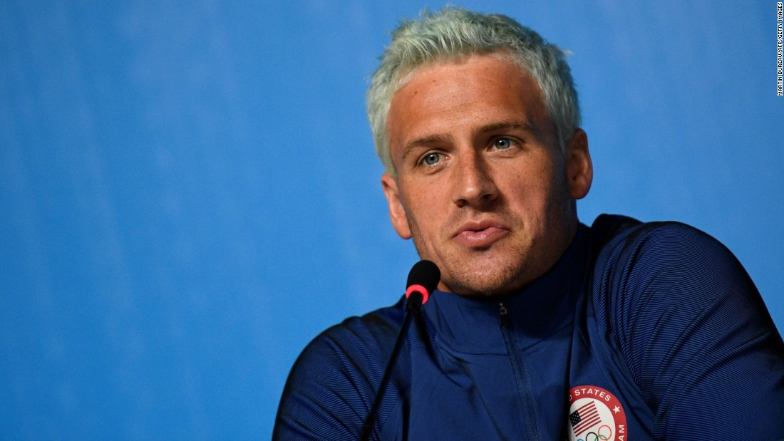 "#5. US swimmer Ryan Lochte came under fire when <a href=""http://edition.cnn.com/2016/08/20/sport/us-olympics-swimmers-reported-robbery-future/"">he admitted that he'd fabricated a story about being robbed at gunpoint</a> in Rio during the 2016 Summer Olympics."