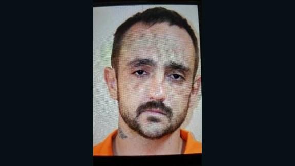 Derrick Dearman,27, turned himself after the killings in Alabama.