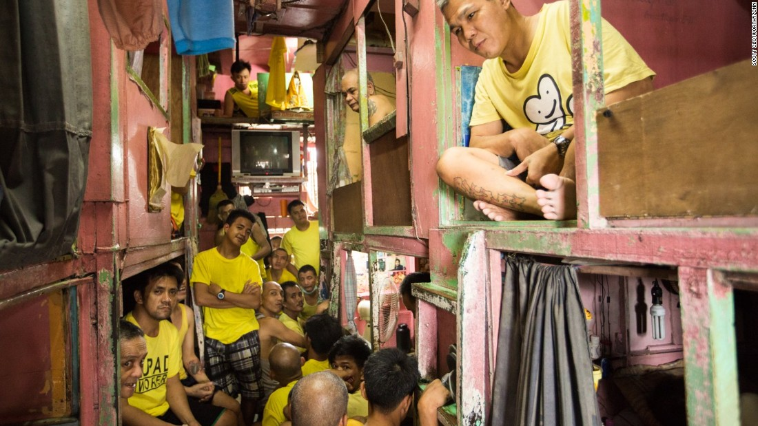 Critics say this overcrowding is a predictable effect of President Rodrigo Duterte's war on drugs.