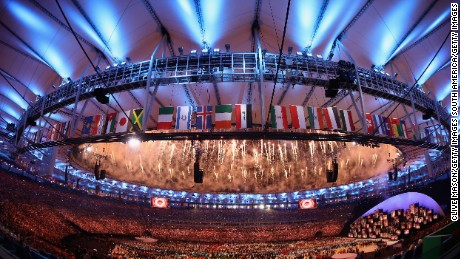Rio sends off the 2016 Summer Olympic Games with its closing ceremony Sunday night.