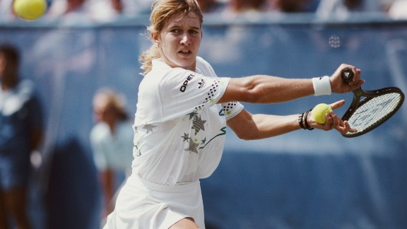 Steffi Graf  won all four majors plus Olympic singles gold in 1988.