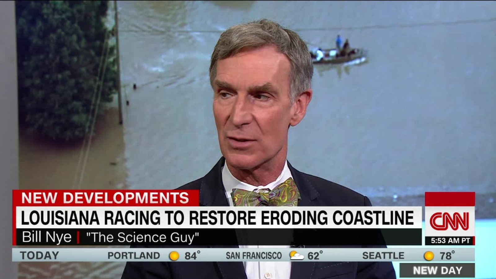 Bill Nye Climate Change To Blame For Louisiana Floods Cnn