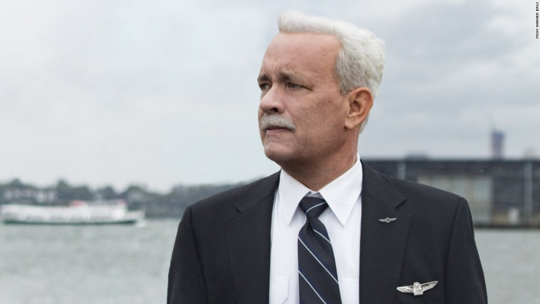 "<strong>""Sully"":</strong> Tom Hanks stars as the real life pilot who became an American hero after he landed a damaged plane on the Hudson River. <strong>(HBO Now)</strong>"