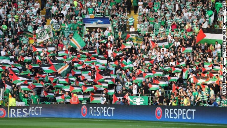The soccer fans stoking Israeli-Palestinian tensions