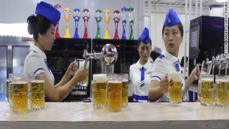 Step inside North Korea's first beer festival