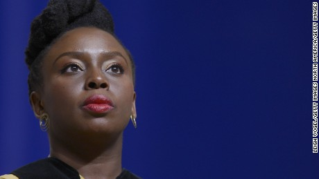 Helping refugees is 'the moral imperative of our time' says Chimamanda Ngozi Adichie