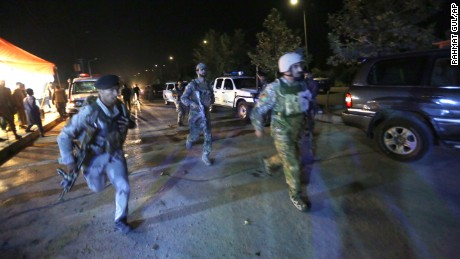 Kabul university attack: 13 killed as gunmen open fire on campus