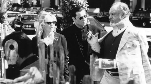 """Get Shorty"" : Rene Russo, John Travolta and Gene Hackman star in this caper classic based on an Elmore Leonard novel. (Hulu)"