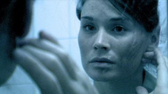 """""""Mulberry St."""" :  Kim Blair is in a fight for her life in this horror sci-fi thriller.  (Amazon Prime, Hulu)"""