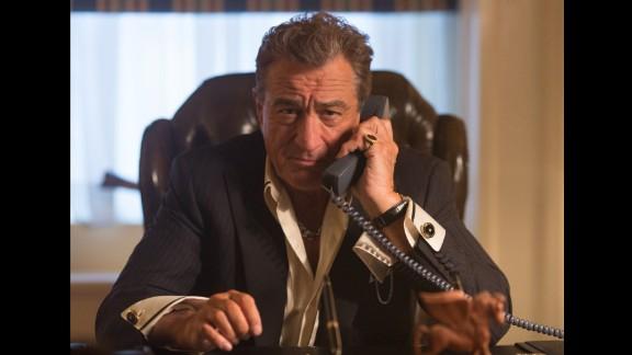 """Heist"" : Robert De Niro plays an unsympathetic casino head in this crime thriller. (Amazon Prime, Hulu)"