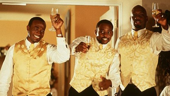 """""""The Wood"""" :  Taye Diggs, Omar Epps, and Richard T. Jones play friends who grapple with love and life in this coming of age flick. (Hulu)"""