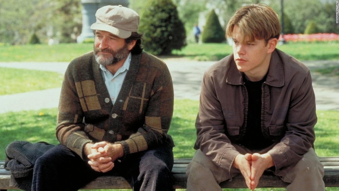 "<strong>""Good Will Hunting"":</strong> Robin Williams and Matt Damon star as a therapist and his troubled patient in this film which snagged Damon and co-writer Ben Affleck an Oscar. <strong>(HBO Now) </strong>"