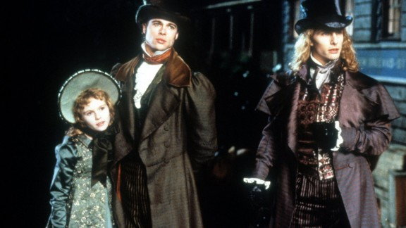"""""""Interview with the Vampire"""" : Kirsten Dunst, Tom Cruise and Brad Pitt are children of the night in this thrilling drama based on the very popular Anne Rice novel.  (Amazon Prime)"""