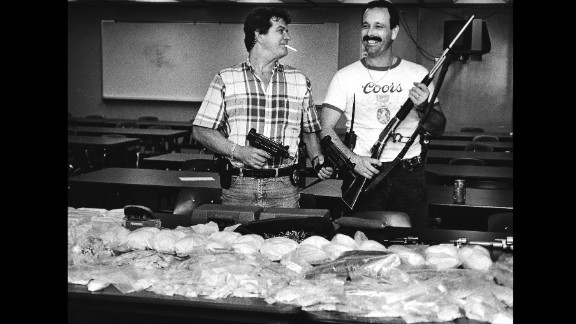 """""""Cocaine Cowboys"""" : This documentary explores the crime wave kicked off by the Miami drug wars and the rise of cocaine in popularity during the 1970s and 80s.  (Amazon Prime)"""