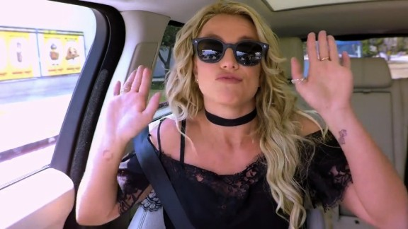 """title: Britney Spears Carpool Karaoke: Coming Thursday duration: 00:00:59 site: Youtube author: null published: Wed Aug 24 2016 01:19:28 GMT-0400 (Eastern Daylight Time) intervention: no description: This Thursday, Britney Spears joins James Corden for a brand new Carpool Karaoke.  """"Subscribe To """"""""The Late Late Show"""""""" Channel HERE: http://bit.ly/CordenYouTube Watch Full Episodes of """"""""The Late Late Show"""""""" HERE: http://bit.ly/1ENyPw4 Like """"""""The Late Late Show"""""""" on Facebook HERE: http://on.fb.me/19PIHLC Follow """"""""The Late Late Show"""""""" on Twitter HERE: http://bit.ly/1Iv0q6k Follow """"""""The Late Late Show"""""""" on Google+ HERE: http://bit.ly/1N8a4OU  Watch The Late Late Show with James Corden weeknights at 12:35 AM ET/11:35 PM CT. Only on CBS.  Get the C"""