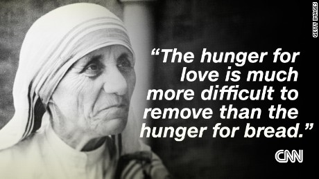 Mother Teresa's most inspiring quotes