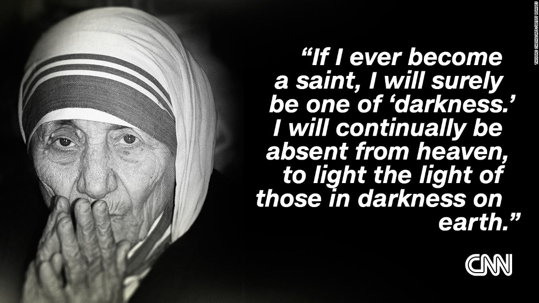 mother teresa declared a saint before huge crowds in the vatican cnn mother theresa quote 12