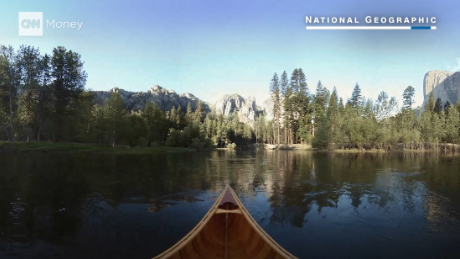 Obama's trip to Yosemite, in virtual reality